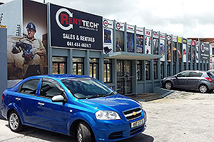The new branch of Renttech SA in Port Elizabeth in Haupt Road